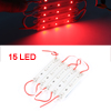 DC 12V 0.3W Channel Letter Waterproof 3528 SMD Red 15 LEDs Modules Light