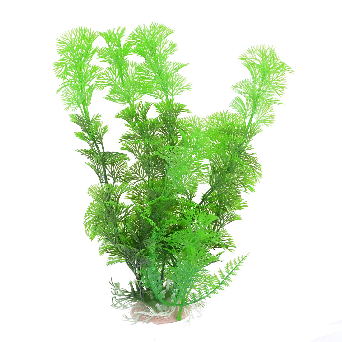 Green Plastic Aquarium Aquascaping Ornament Underwater Grass Plant