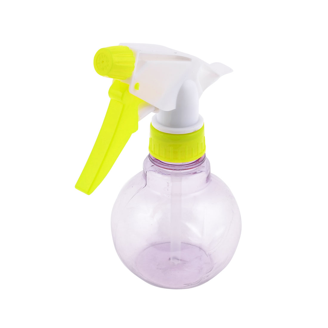 Yellow White Clear Purple Spray Nozzle Triggered Water Bottle Makeup Tool 200ml