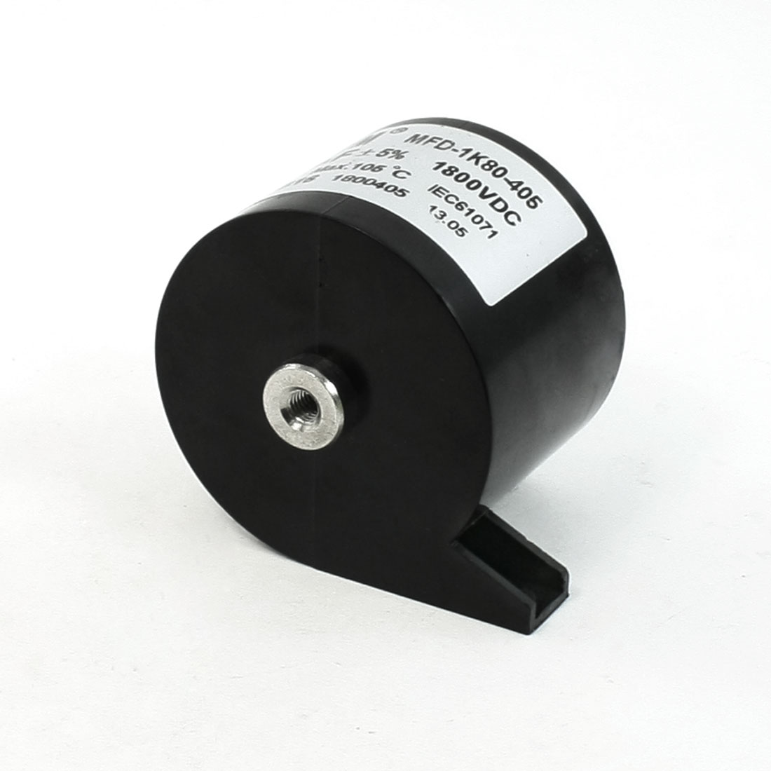 CBB16 DC 1800V 4uF 5% Machine Plastic Housing Motor Run Capacitor
