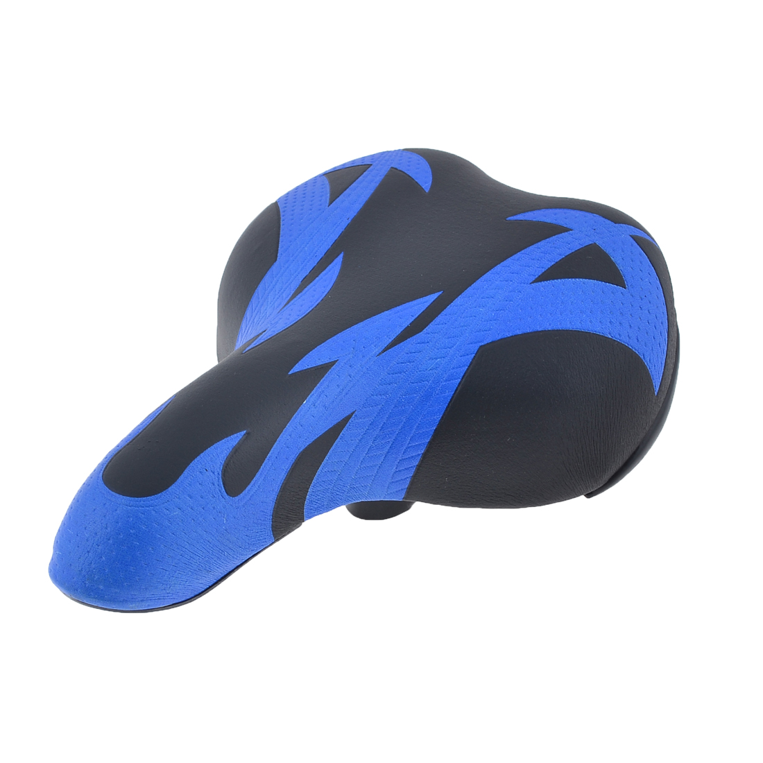 Replaceable Blue Black Bike Seat Foam Padding Saddle for Bicycle