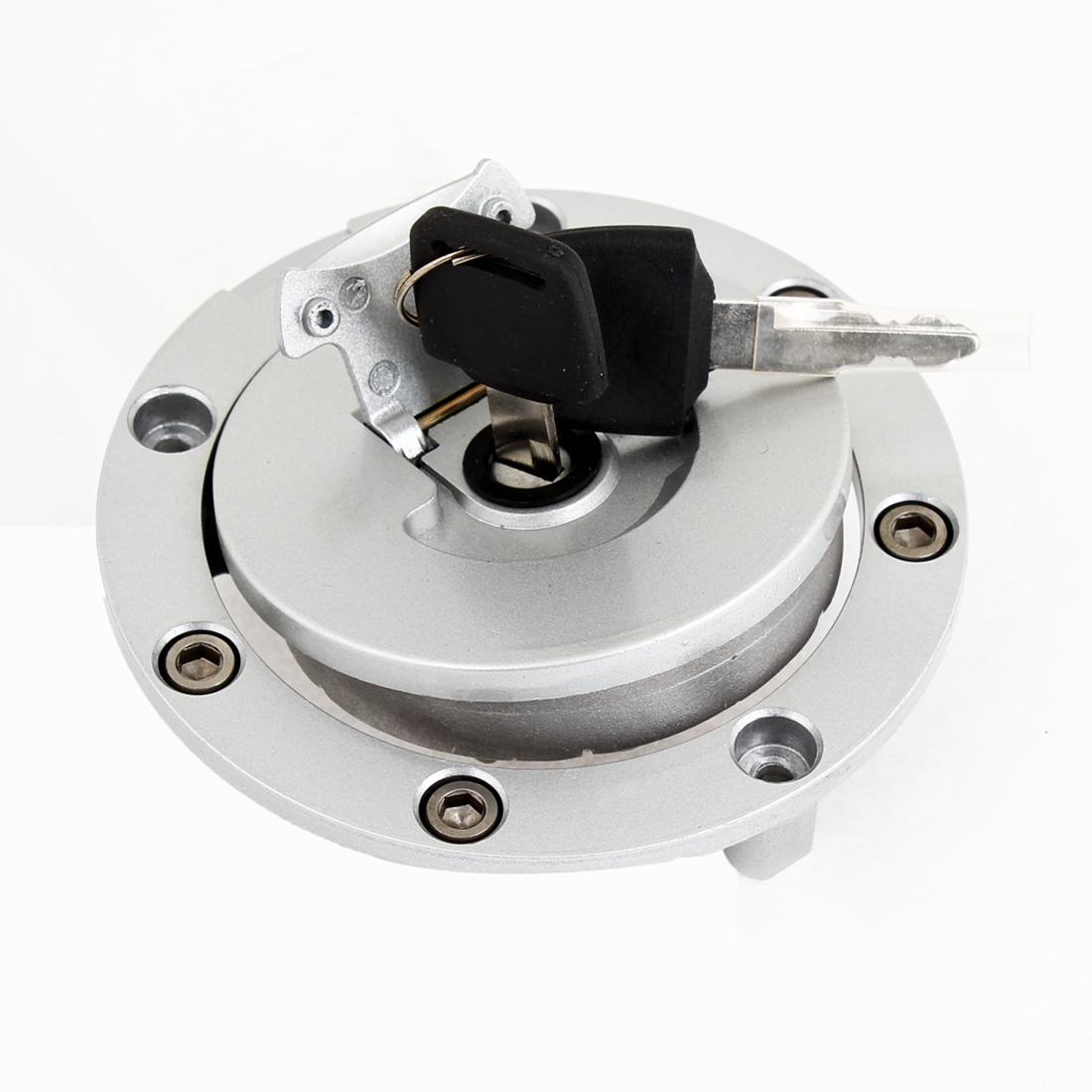 Motorbike Metal Gas Fuel Tank Filler Cap W Keys for Honda