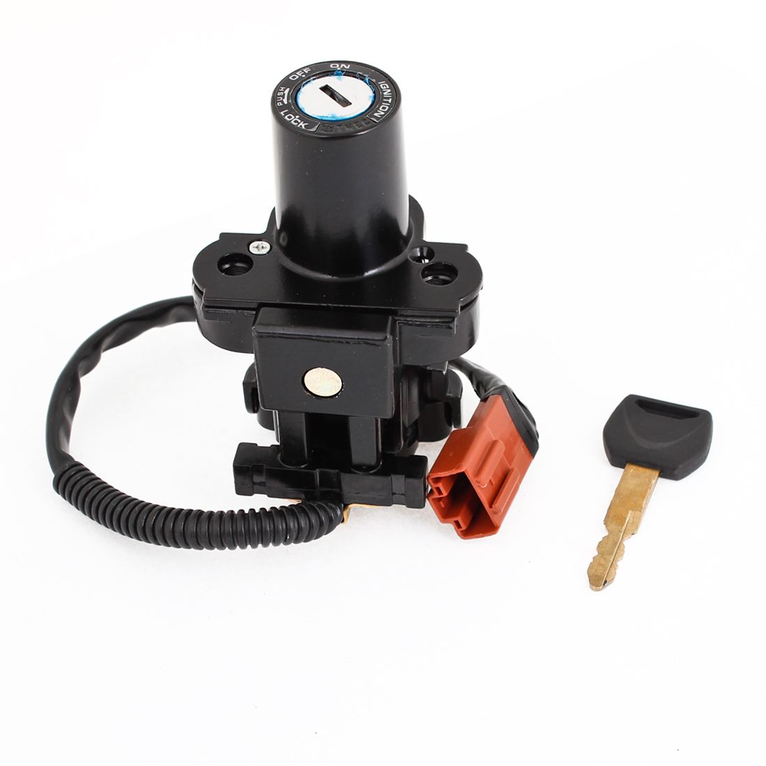 Motorcycle Lock-Off-On Type Ignition Switch Replacement for Honda 08 CBR1000