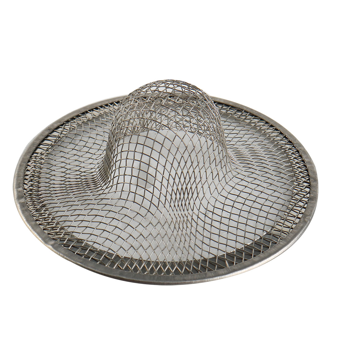 "2PCS 2.7"" Diameter Stainless Steel Drainer Basin Filter Mesh Sink Strainer"