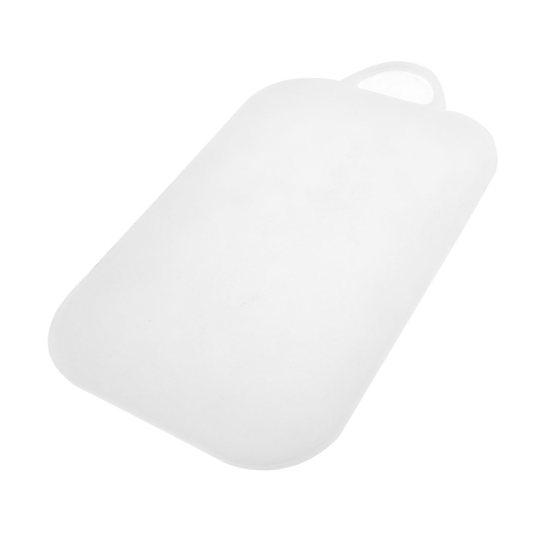 Kitchen White Plastic Fruit Vegetable Cutting Chopping Board