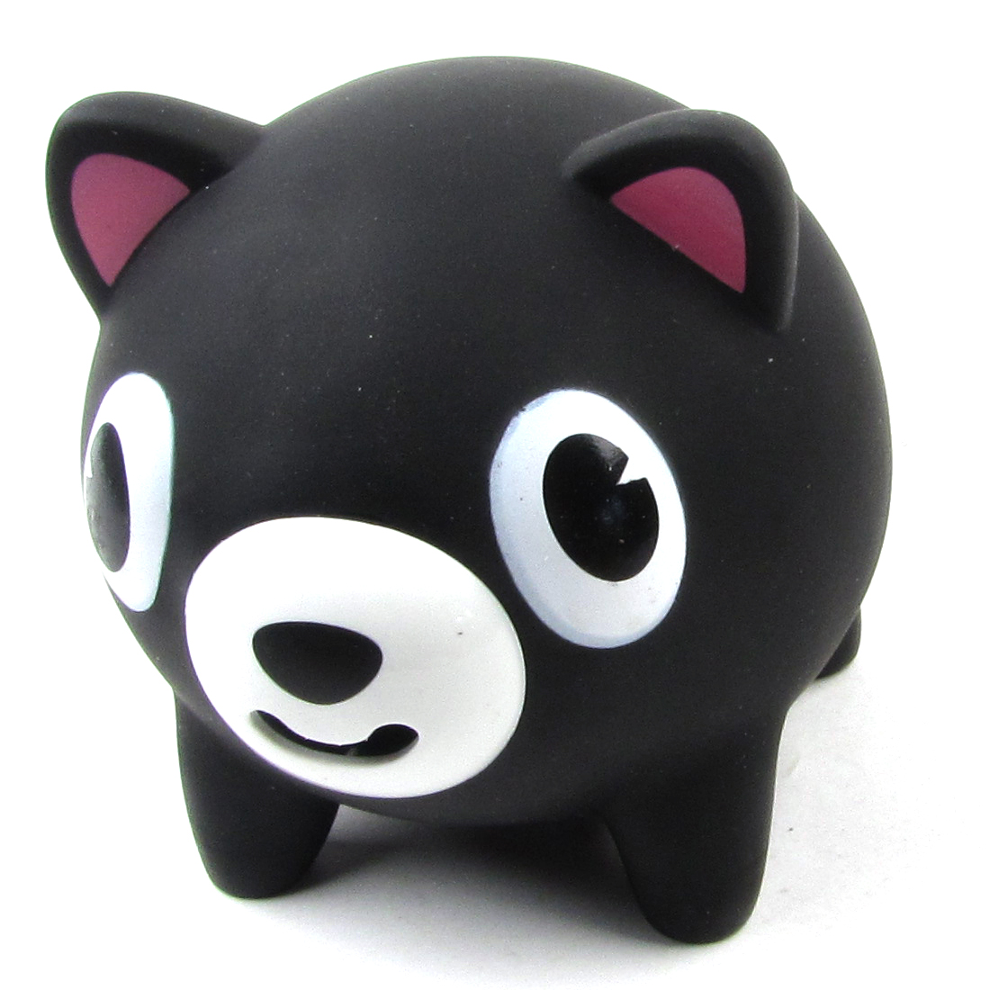 Child Squeeze Tongue Call Bell Toy Black Cartoon Abreact Pig Design