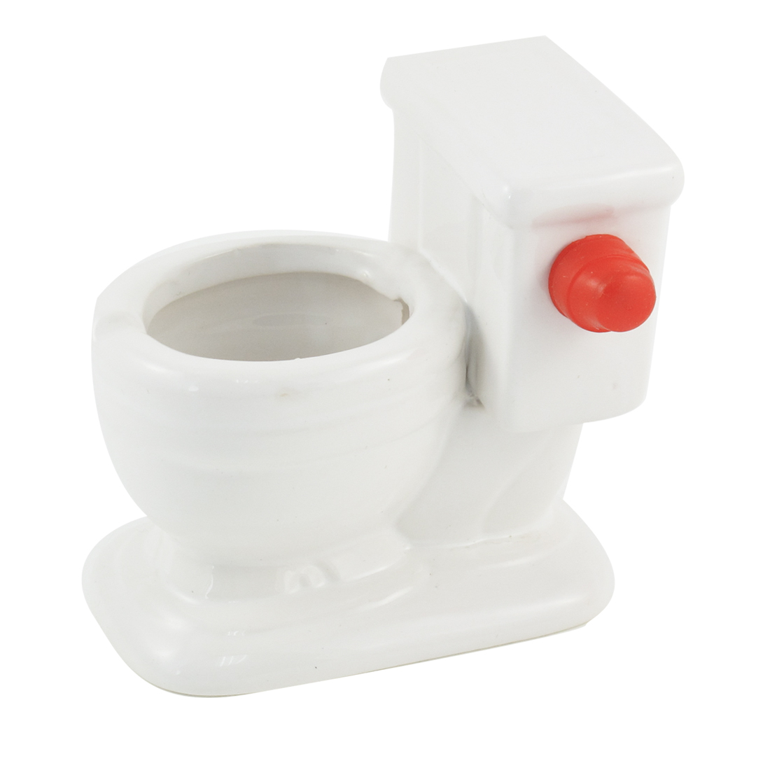 Bedroom Closestool Design White Ceramic Cigarette Ashtray
