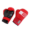 Pair Red Black Boxing Sports Punching Gloves Mittens for Children