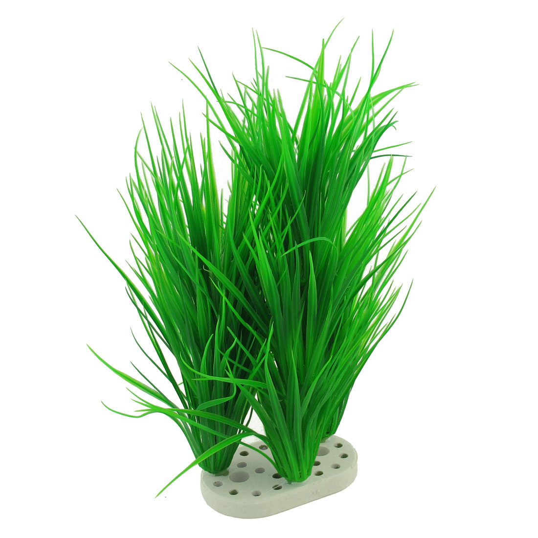"14.2"" Height Green Artificial Fish Tank Aquarium Plant Decoration"