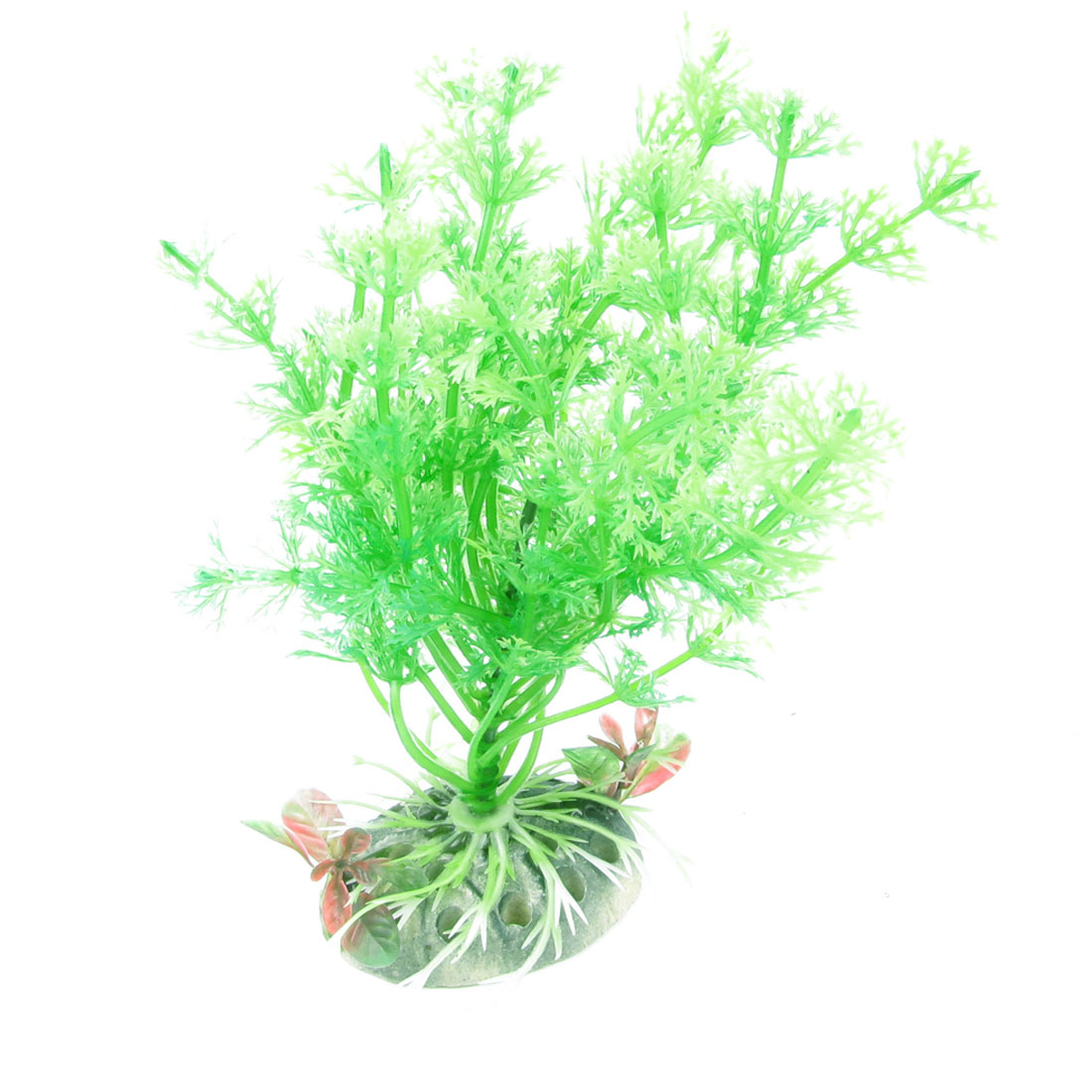 "5.3"" Height Green Aquarium Landscape Emulational Aquatic Water Plant Decoration"