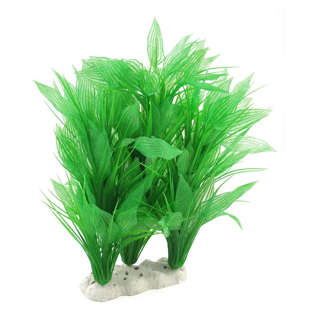 "15.4"" High Green Simulation Aquarium Underwater Grass Ornament"