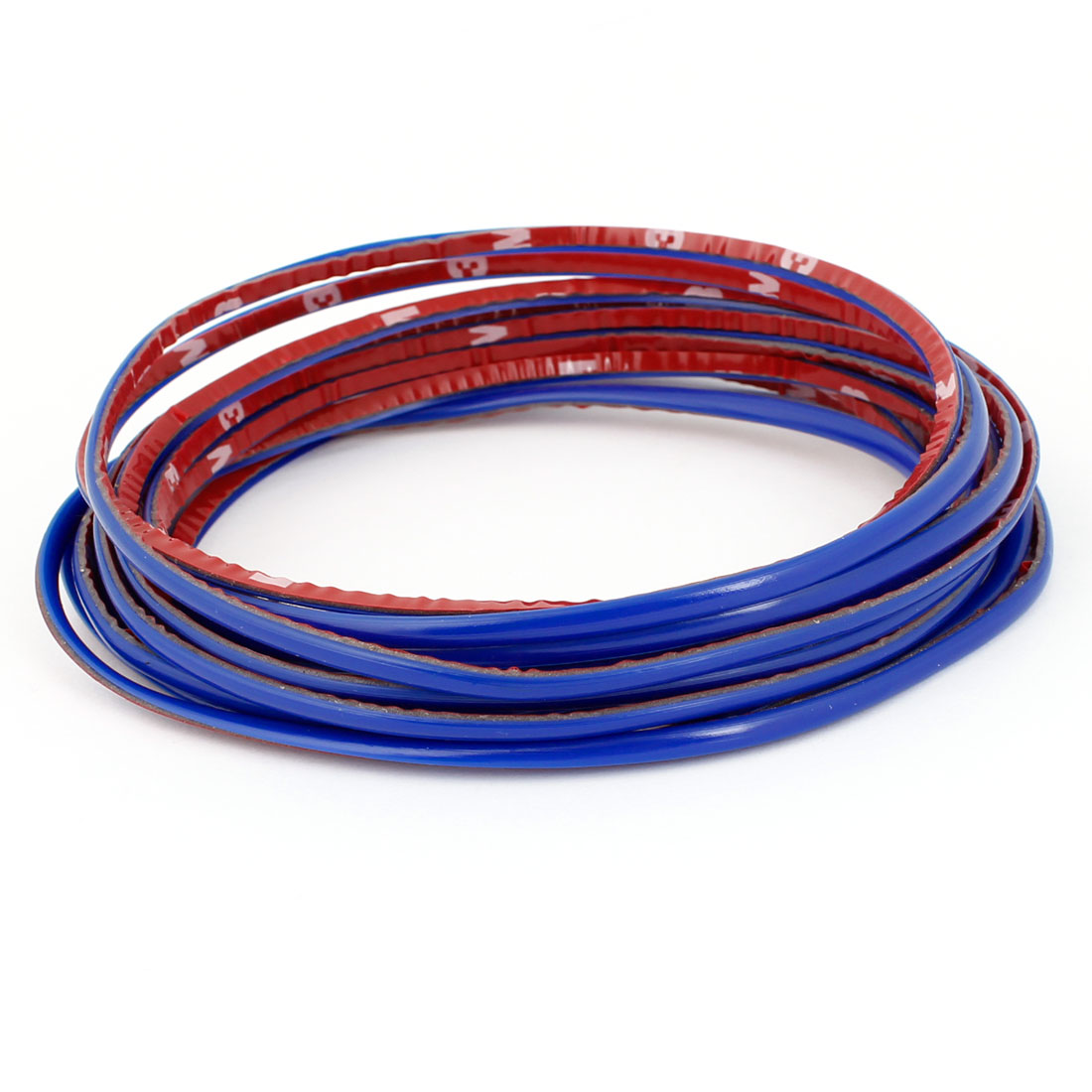 4 Meters Royal Blue Soft Plastic Flexible Strip Sticker for Car