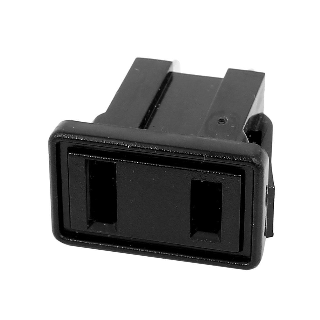 AC 125V 15A 2 Poles IEC320 C9 Power Inlet Socket Connector Anti Electric-shock