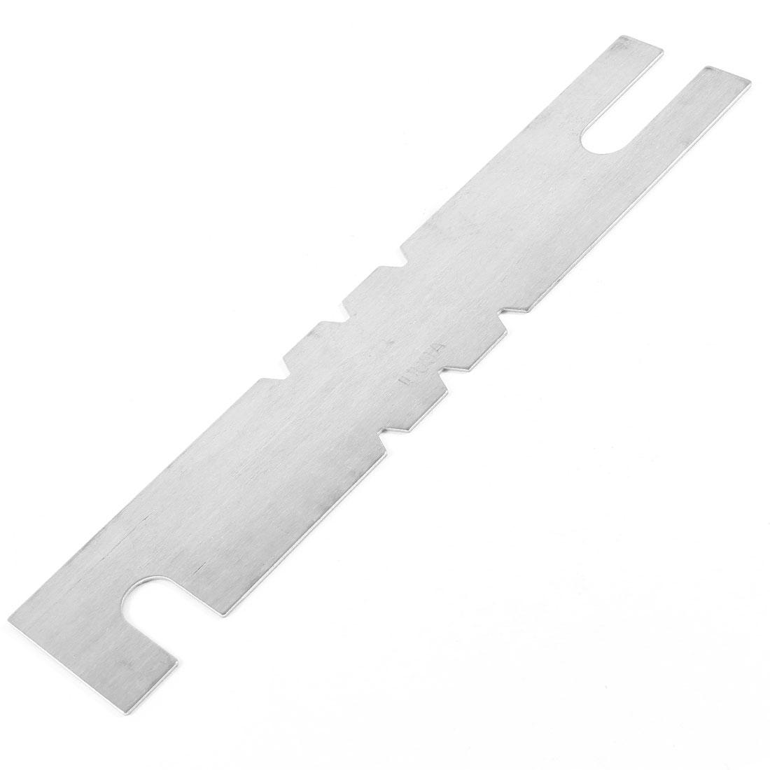 1000Amp Silver Tone Aluminum Automobile Car Blade Fuses