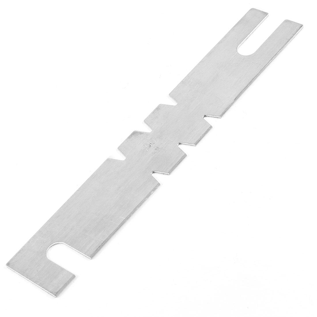 400Amp Silver Tone Aluminum Automobile Car Blade Fuses
