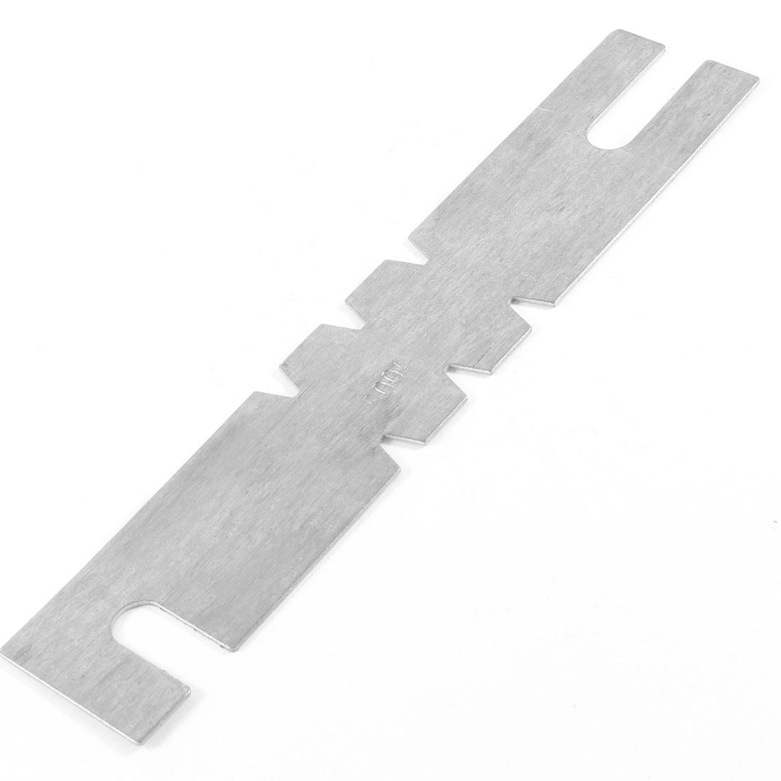600Amp Silver Tone Aluminum Automobile Car Blade Fuses