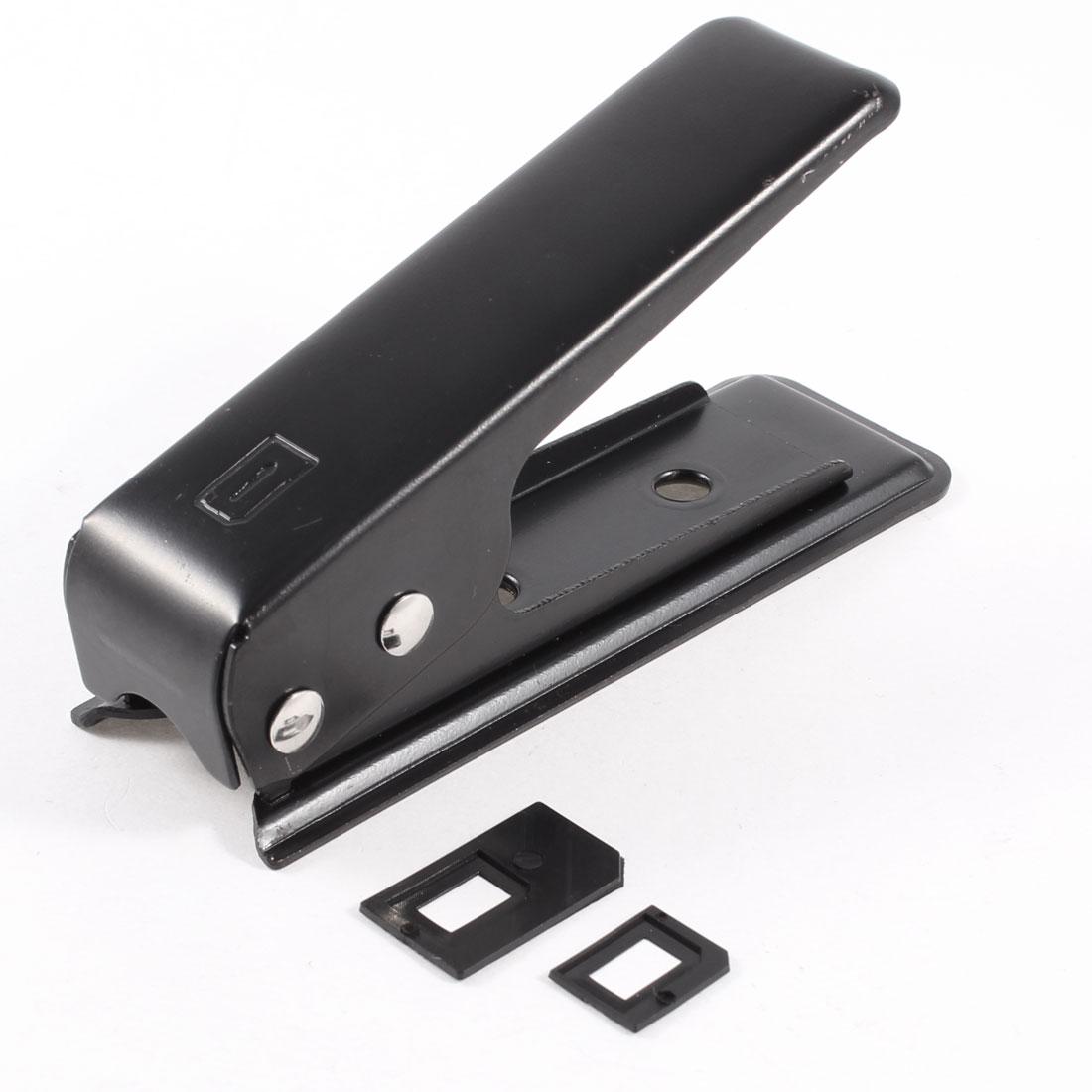 Black Metal Nano SIM Card Cutter