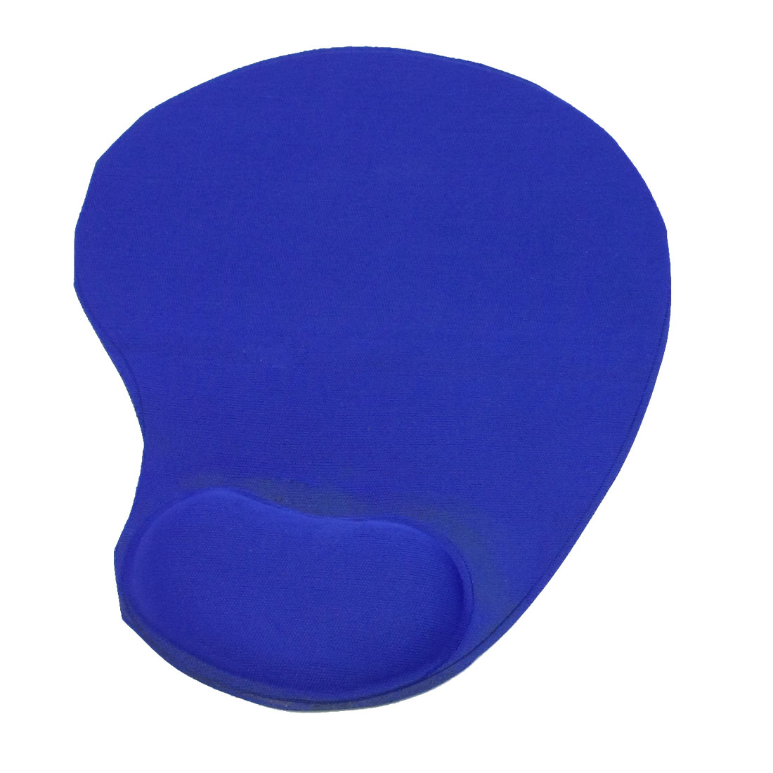Black Blue Polyester Terylene Wrist Rest Support Laptop Computer Mouse Pad