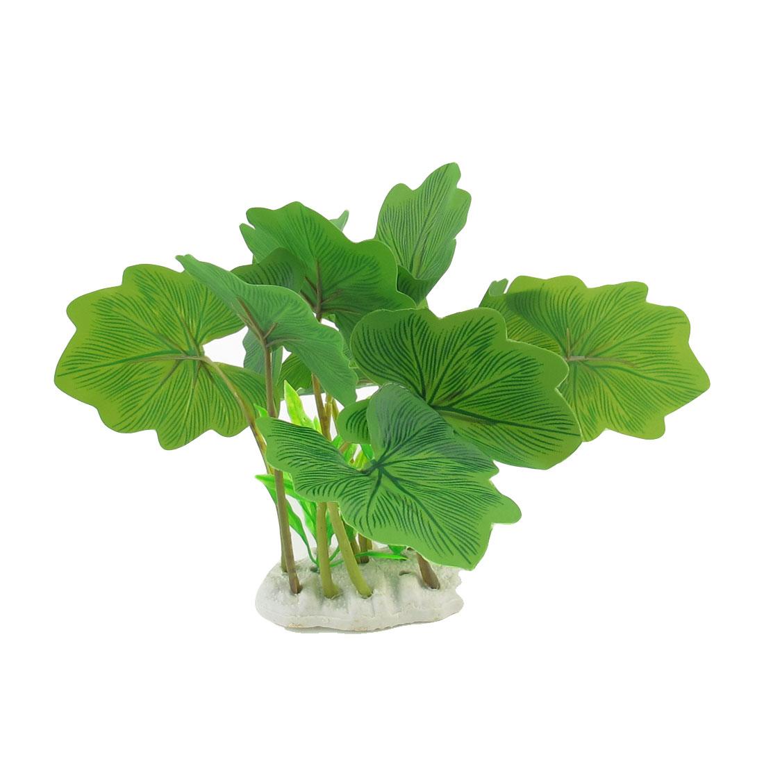 """6.8"""" High Green Simulation Aquarium Underwater Plant Tree Ornament"""