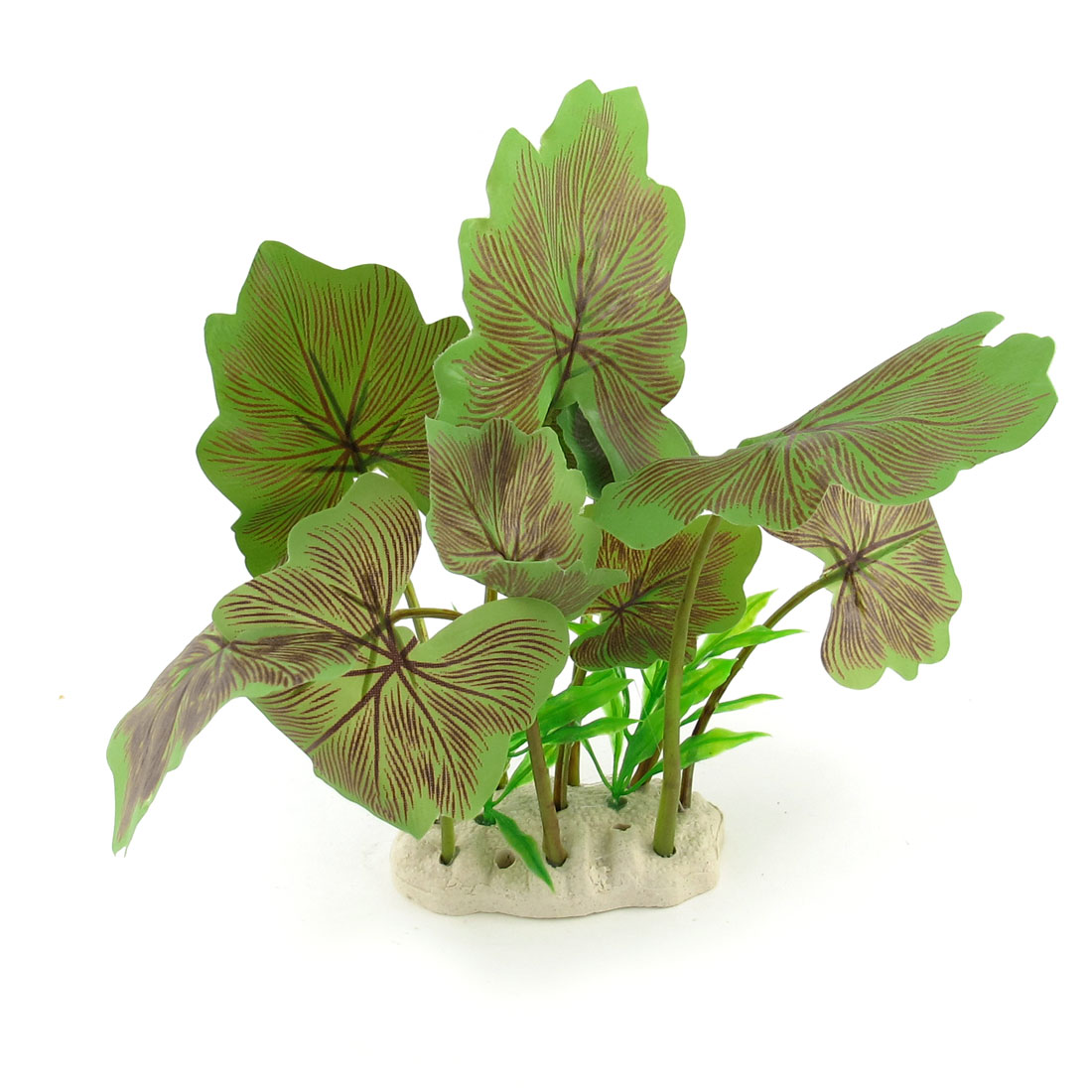 """7.3"""" High Green Simulation Aquarium Underwater Plant Tree Ornament"""