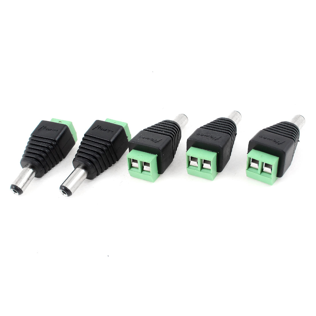 2.1mm x 5.5mm Male Jack DC Male Power Cable Plug Connector for CCTV Camera