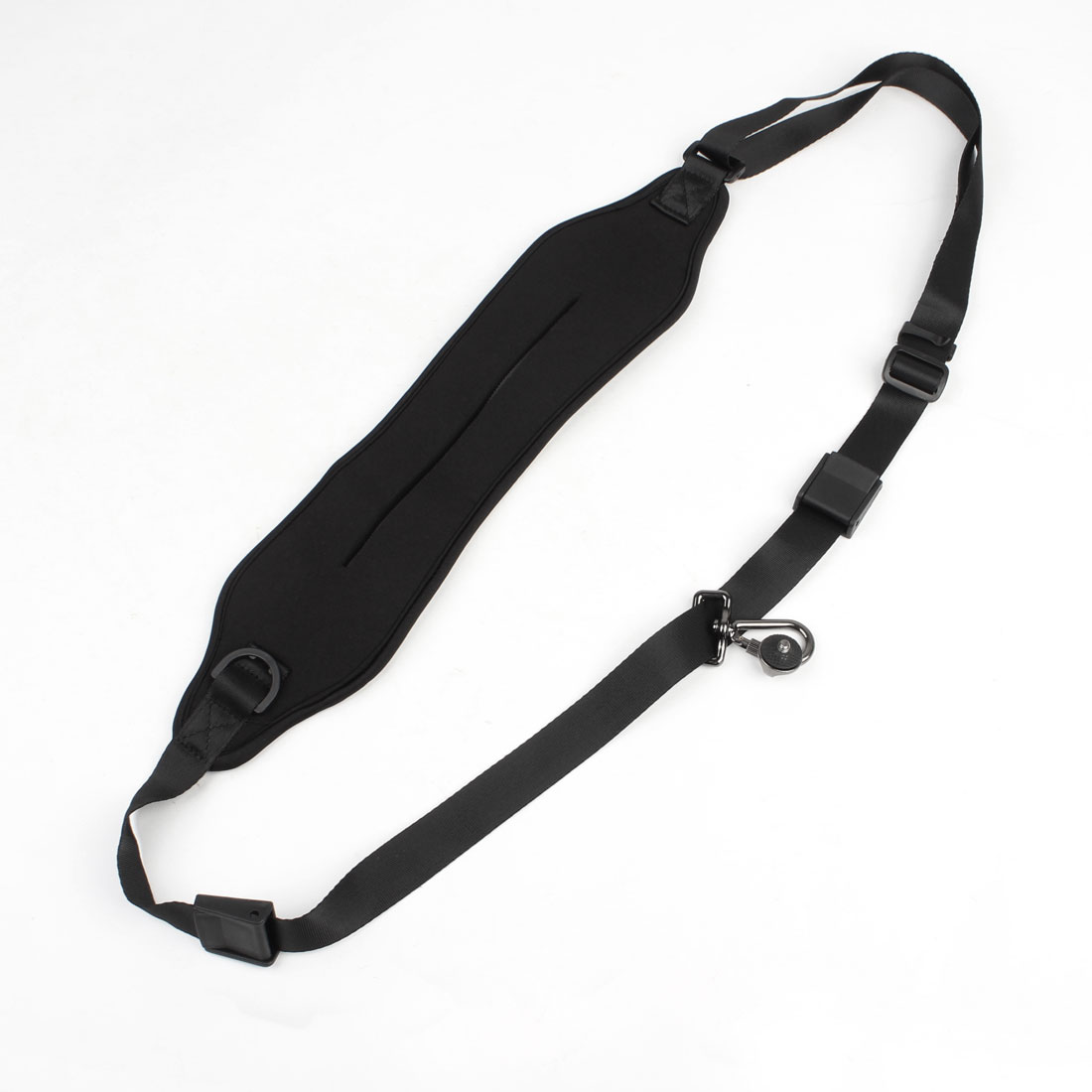 "3"" Width Black Adjustable Water Resistant Strap w Hook for DV Camera"