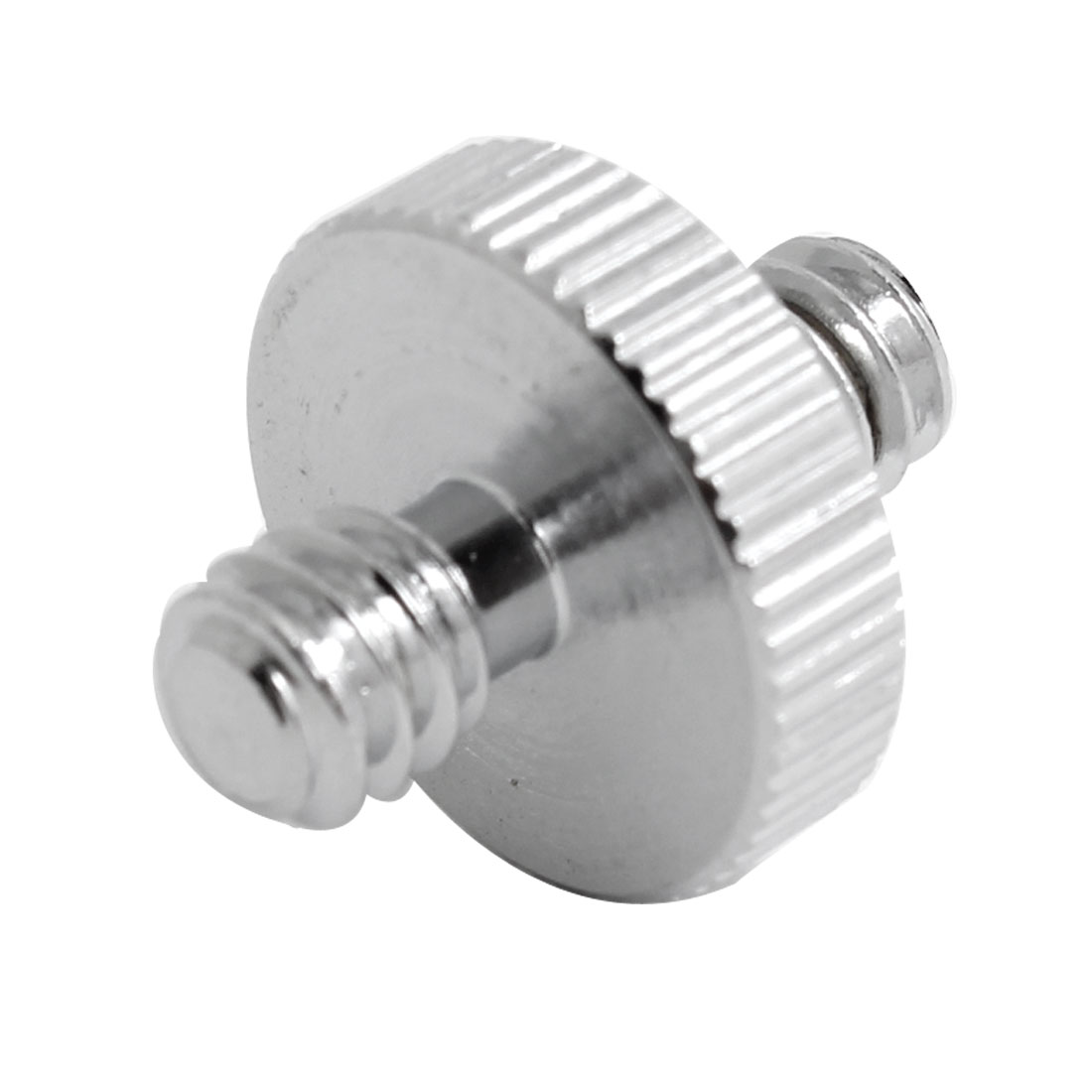 "Camera 1/4"" to 1/4"" Male/Male Thread Flash Light Stand Screw Adapter"