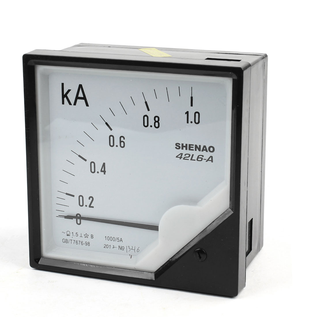 Analogue Needle AC 0-1.0kA Class 2.5 Accuracy Ampere Panel Meter
