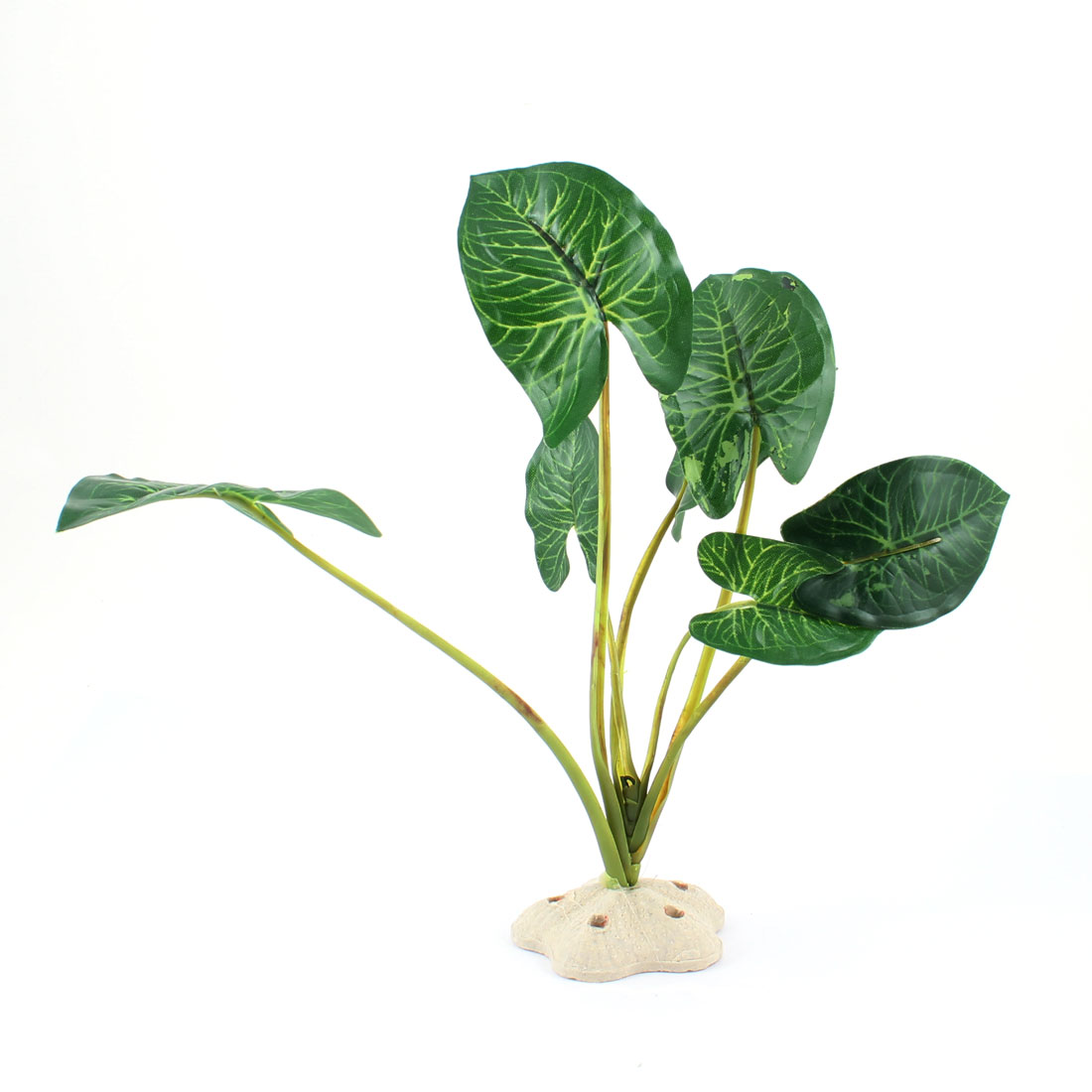 "8.9"" High Plastic Plants Grass Green Decoration for Fish Tank"