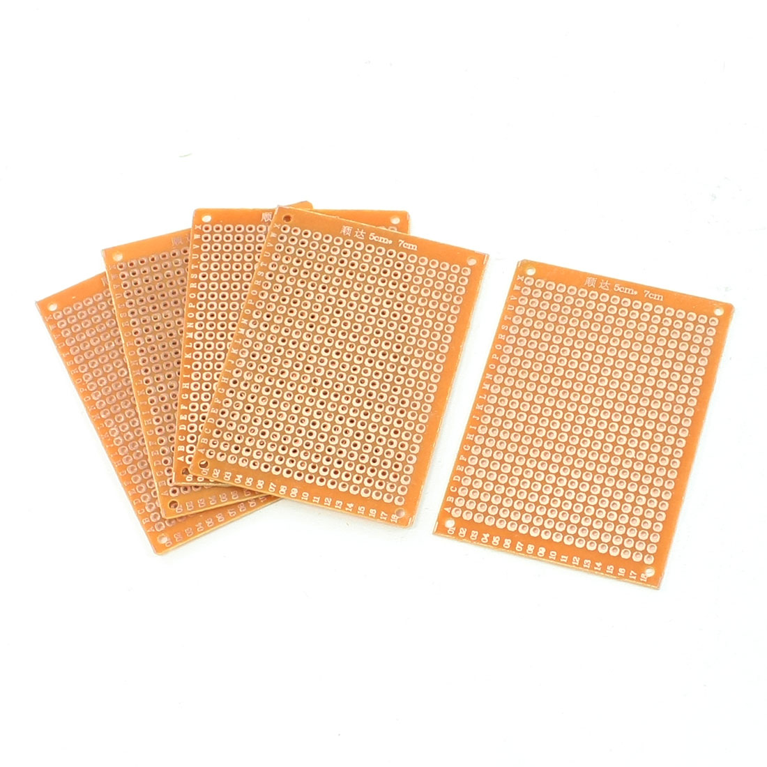 5 Pcs Prototyping Universal Copper PCB Print Circuit Board 50mm x 70mm
