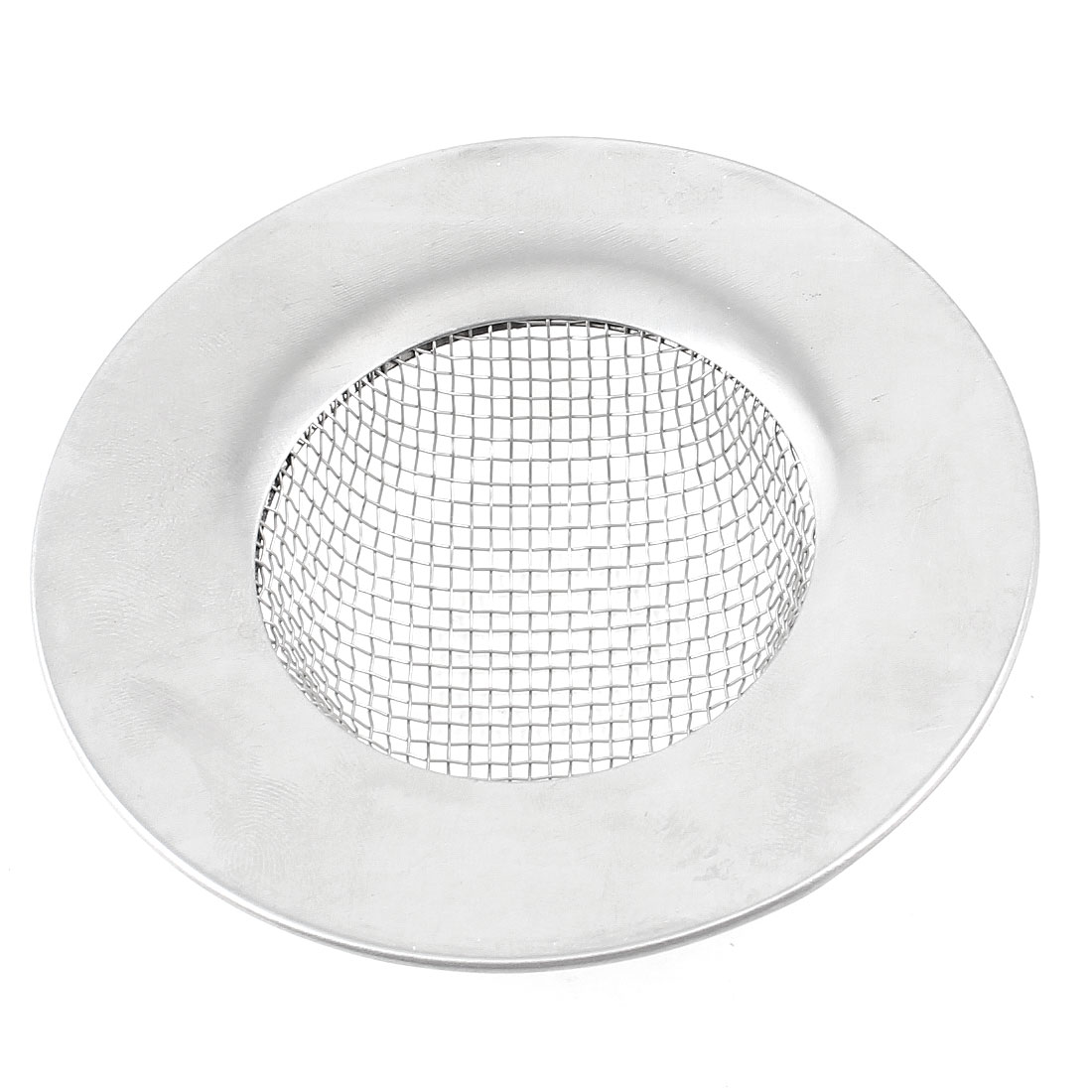 "3.0"" Diameter Water Leak Mesh Floor Drain Basin Sink Strainer Silver Tone"