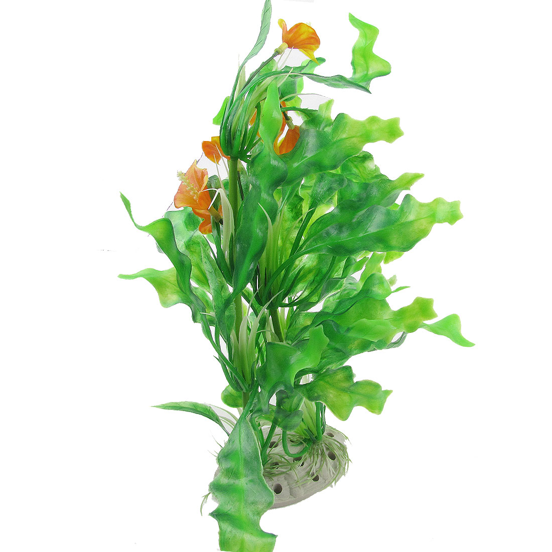 22cm Wide Fish Tank Aquarium Aquascaping Green Artificial Aquatic Grass Ornament
