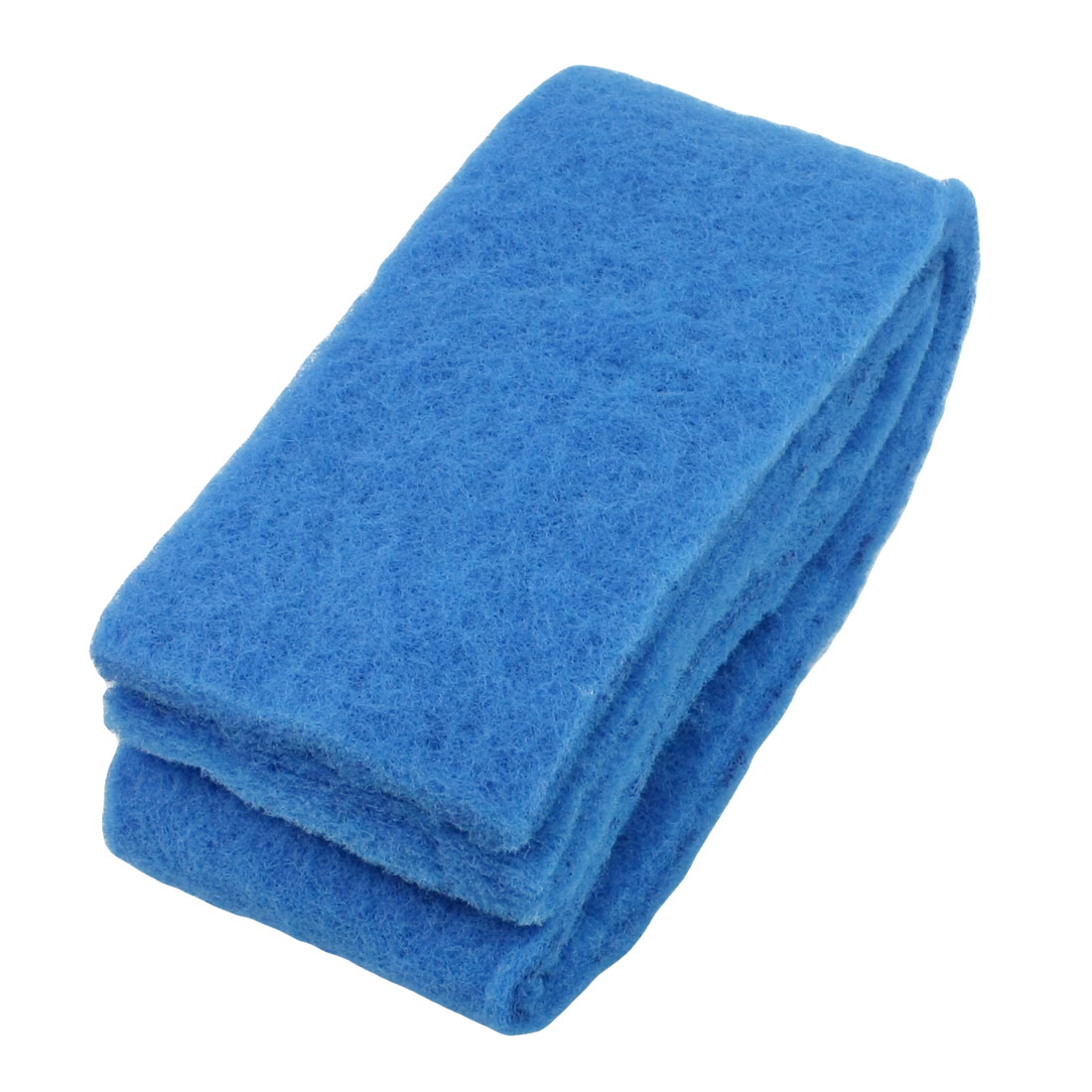 "Blue Rectangle Sponge Filter Fresh Water Aquarium Filter 39.8"" Long 2Pcs"