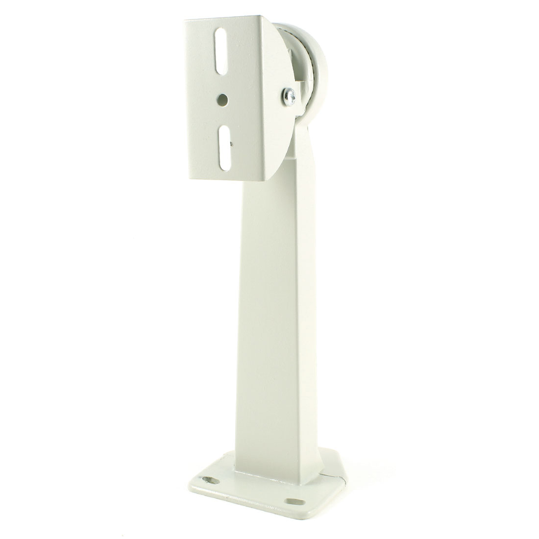 28cm Height Off White Metal Wall Ceiling Mount Bracket Stand for CCTV Camera
