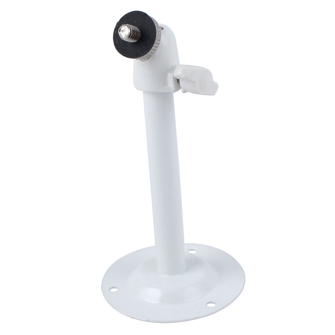 11cm Height White Metal Wall Ceiling Mount Bracket Stand for CCTV Security Camera