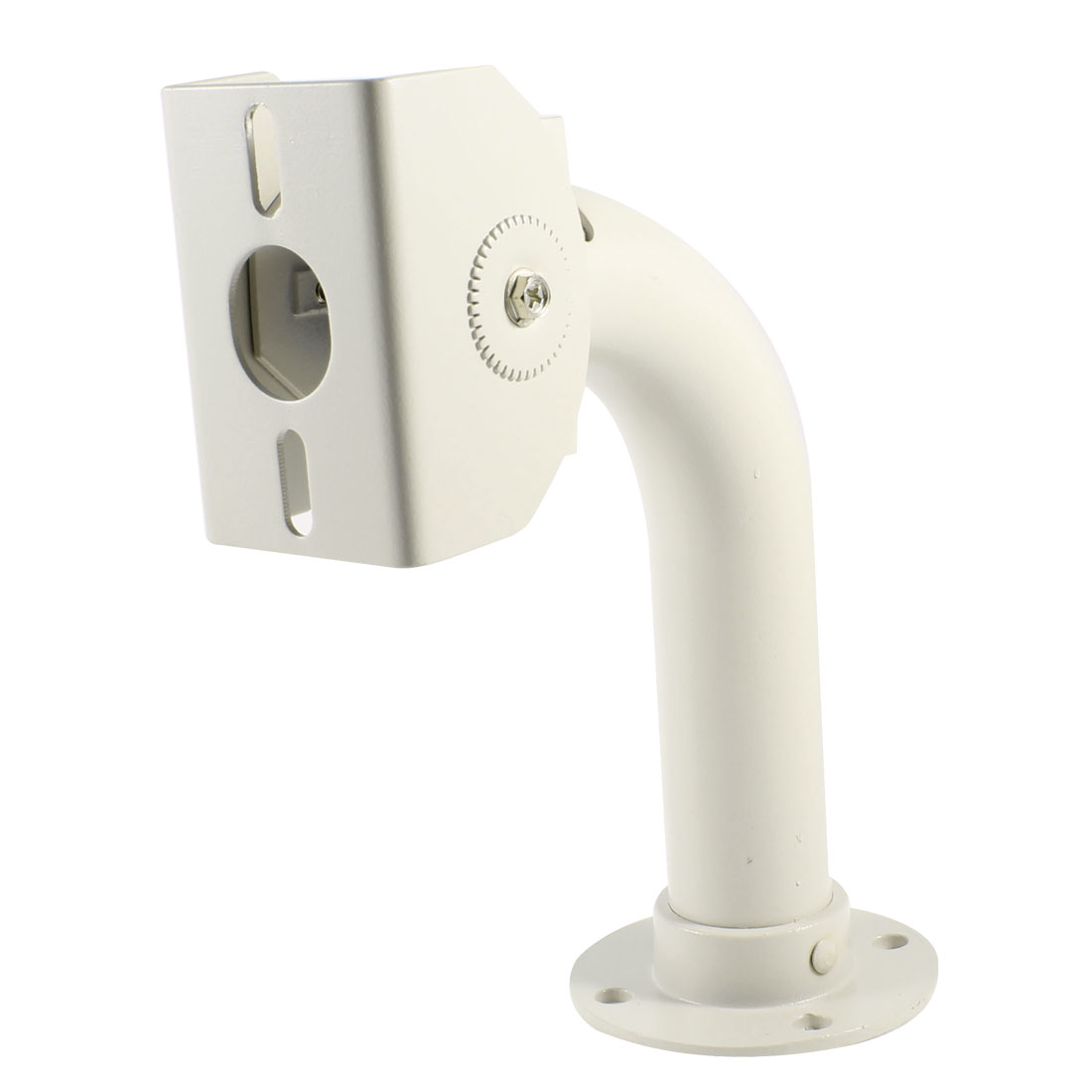 23cm High Off White Metal Wall Ceiling Mount Bracket Stand for CCTV DVR Camera