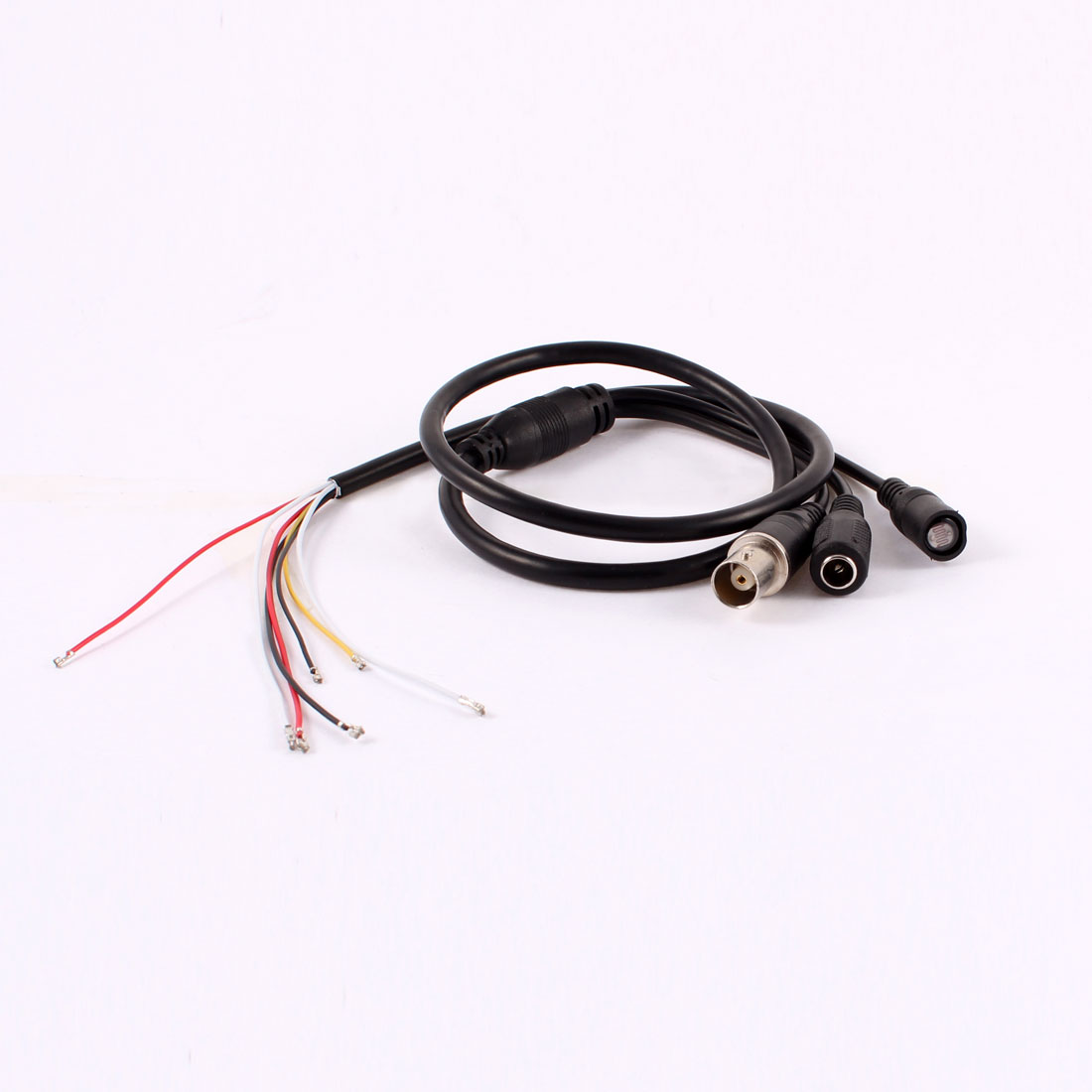 Photodetector BNC Female Video Out 5.5x2.1mm DC Jack Power Input Cable Black 79cm