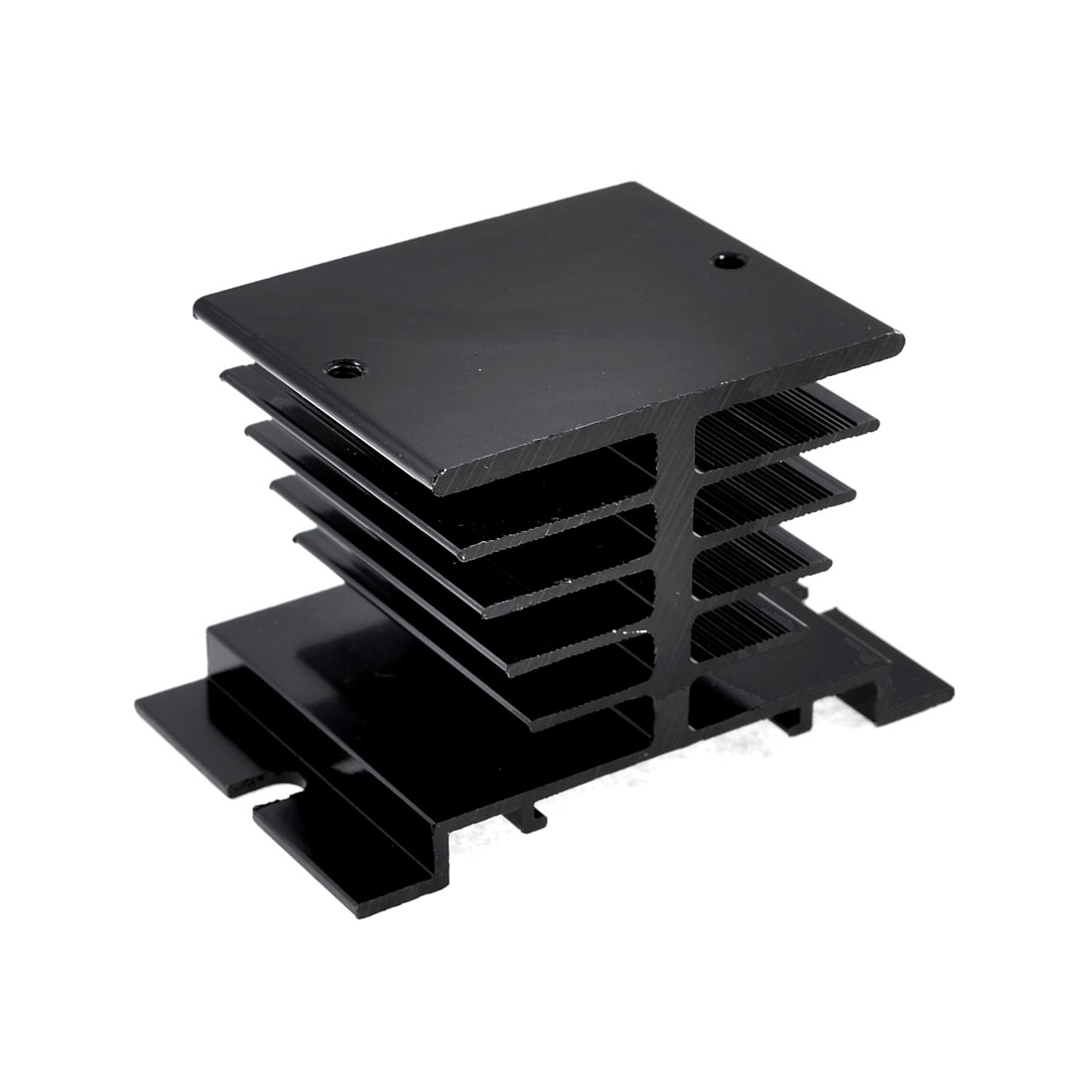 8cm x 5cm x 5cm Black Single Phase Heatsink Heat Diffuse Metal Cooling Fin