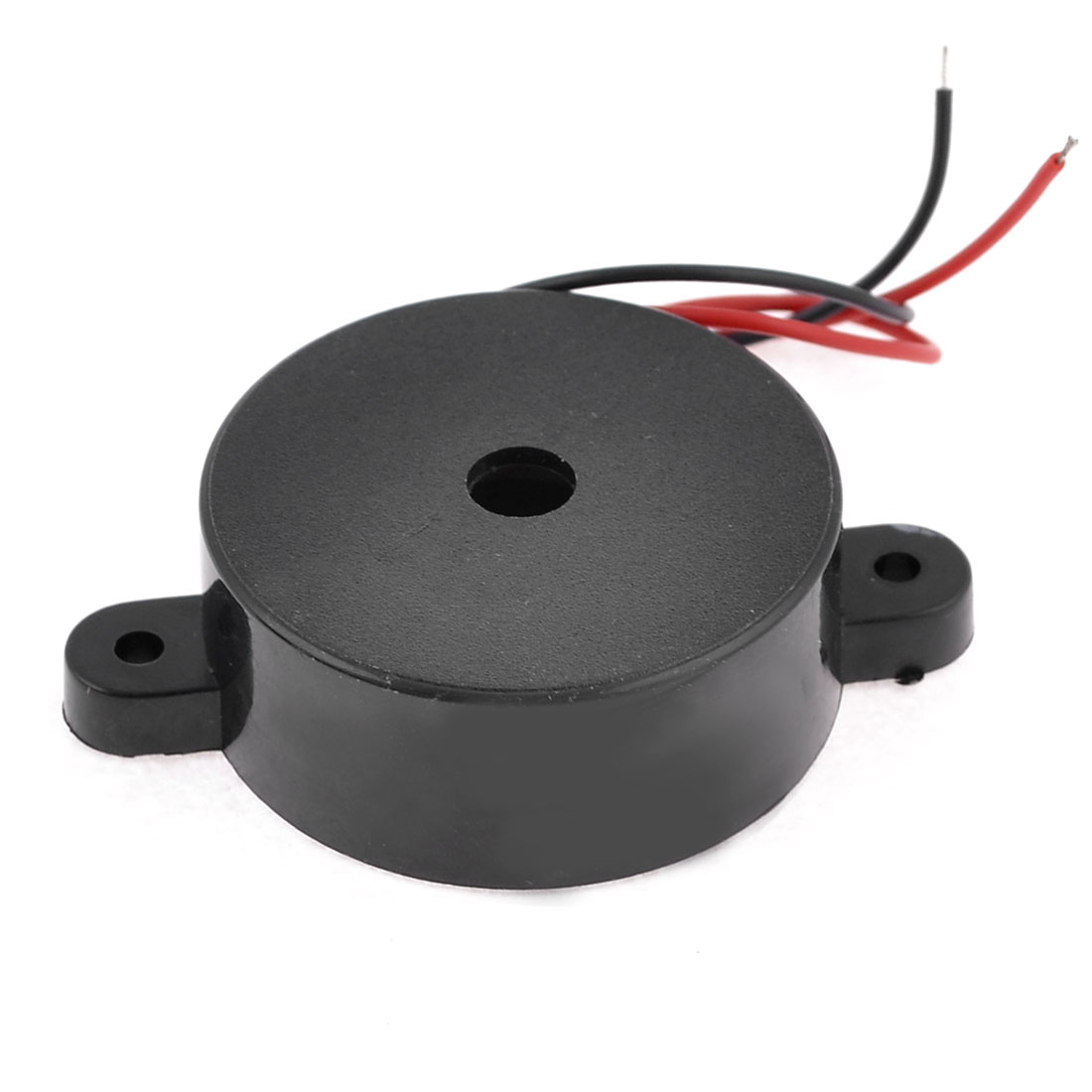 Black Housing DC 3-24V 2 Wire Industrial Electronic Discontinuous Sound Buzzer 95dB