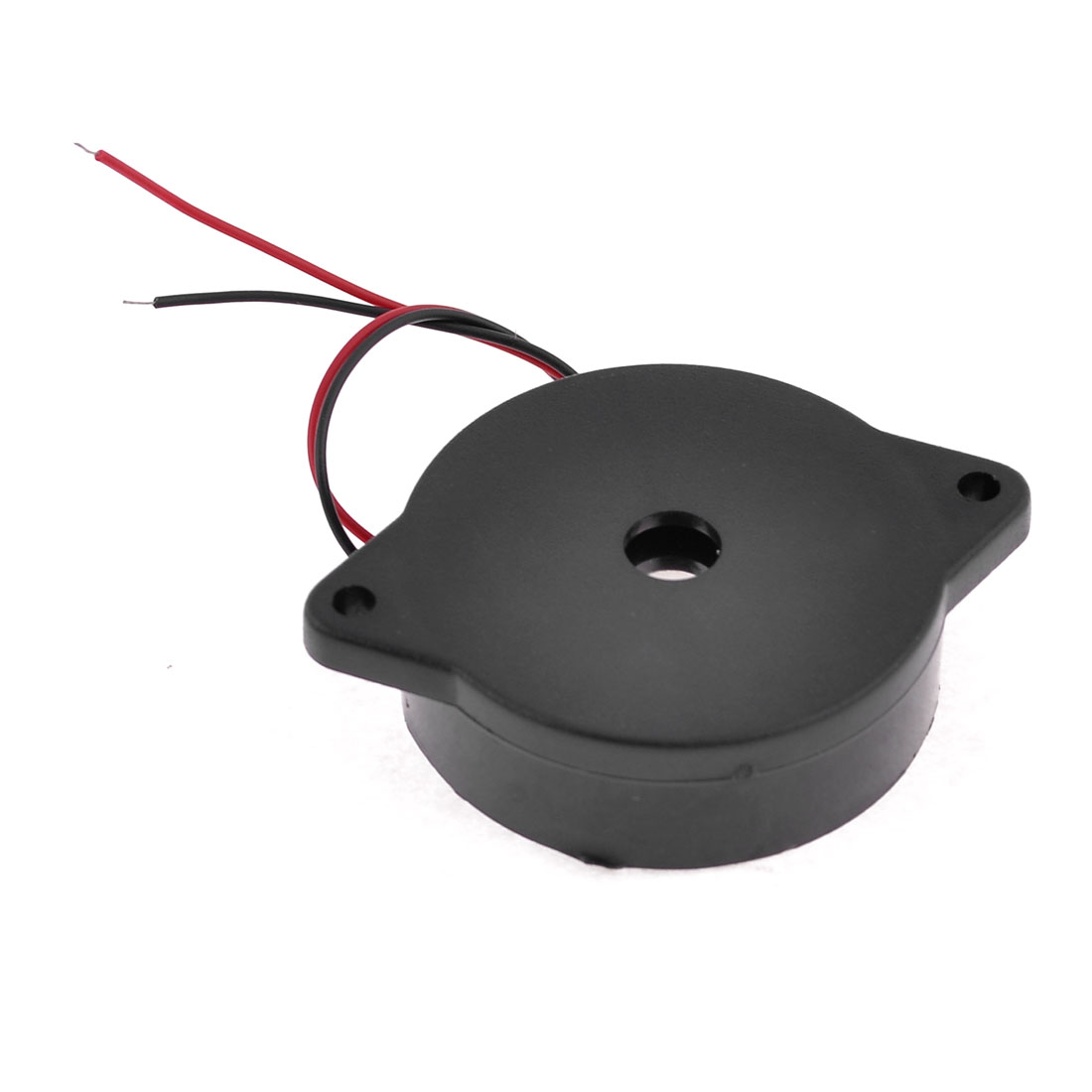 Black Housing DC 3-24V 2 Wire Industrial Electronic Alarm Sound Buzzer 80dB