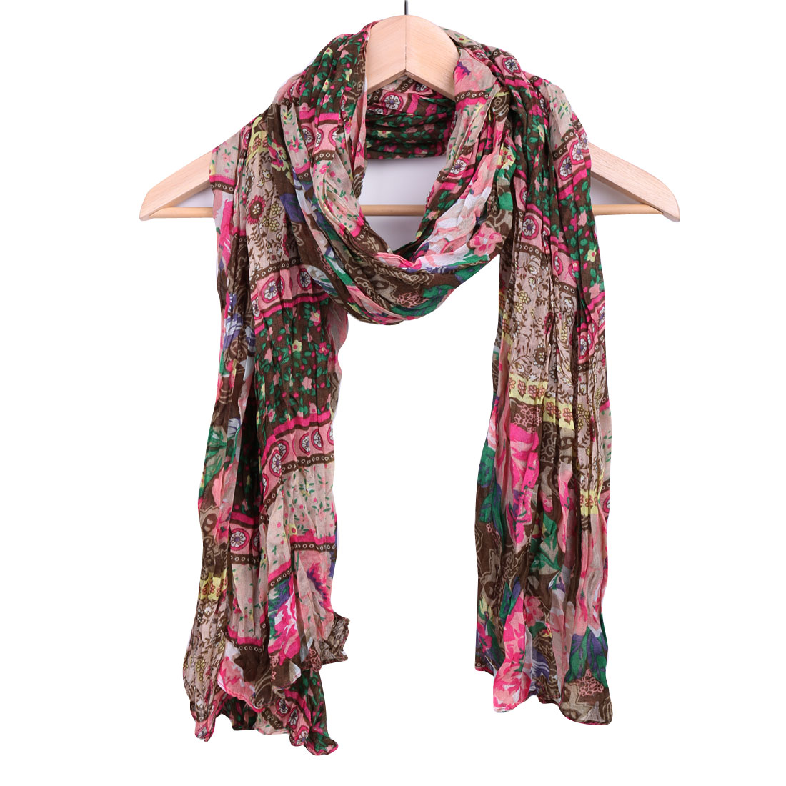 Women Multicolor Floral Pattern Super Soft Casual Stylish Scarf
