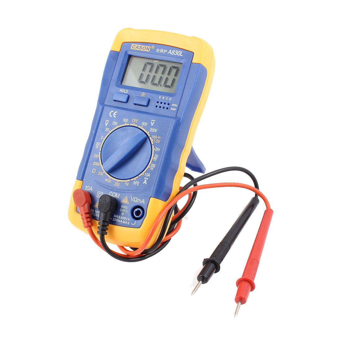 Plastic Shell Digital Multimeter Tester AC/DC Precision Multitester Tool