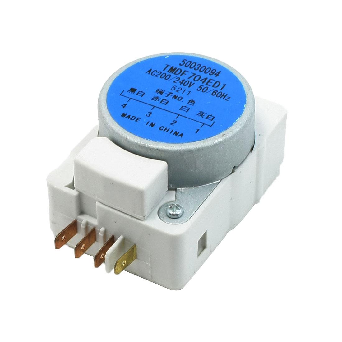AC 200/240V 50/60Hz TMDF704ED1 Type Fridge Refrigerator Defrost Timer