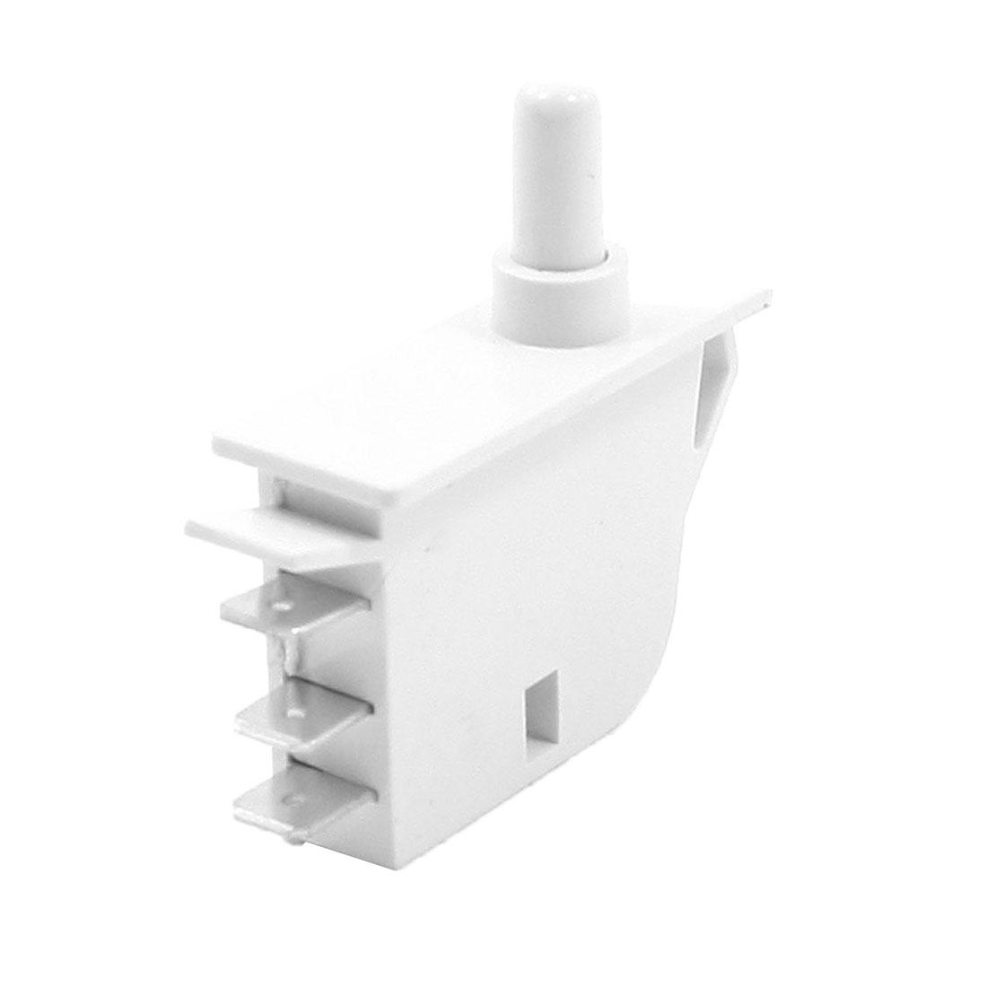 250V 0.5A NC NO Insulating Housing SPDT 3 Pin Fridge Door Light Switch