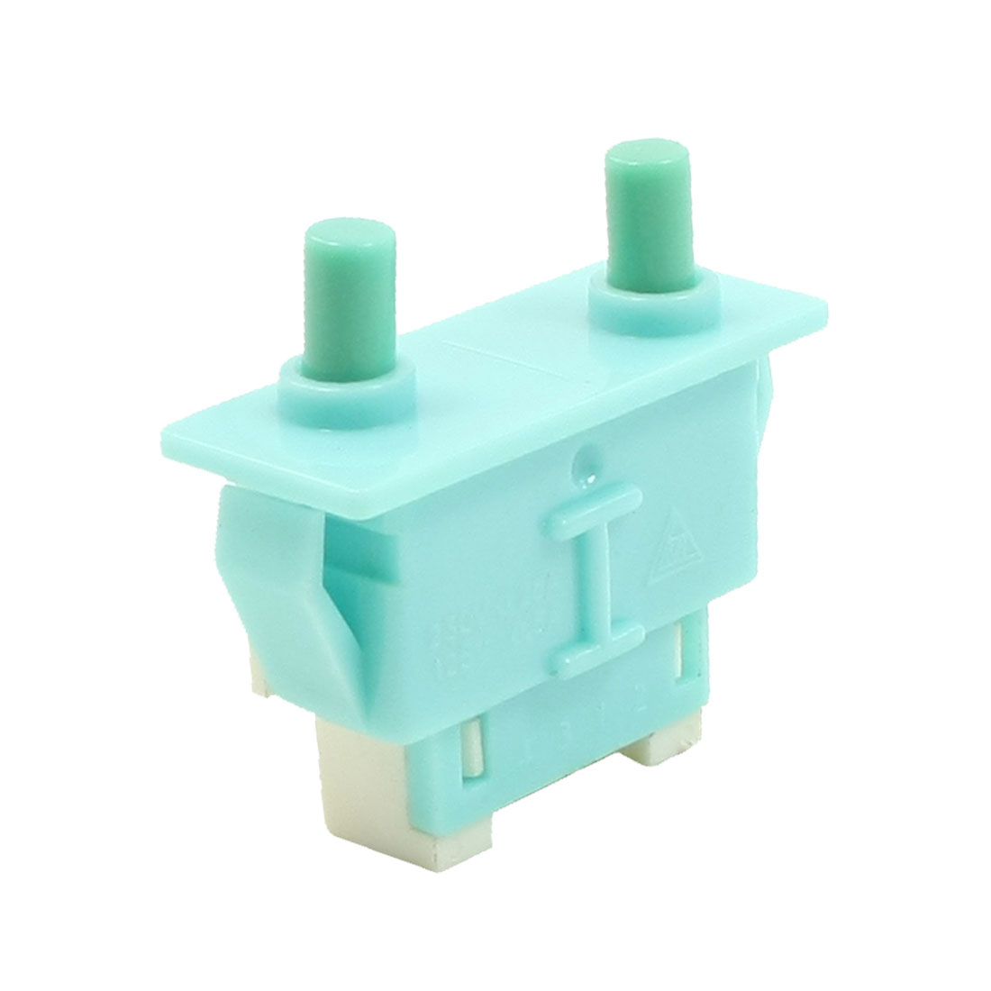 250V 0.25A 125V 0.5A SPST Double Button Momentary Action Door Light Switch
