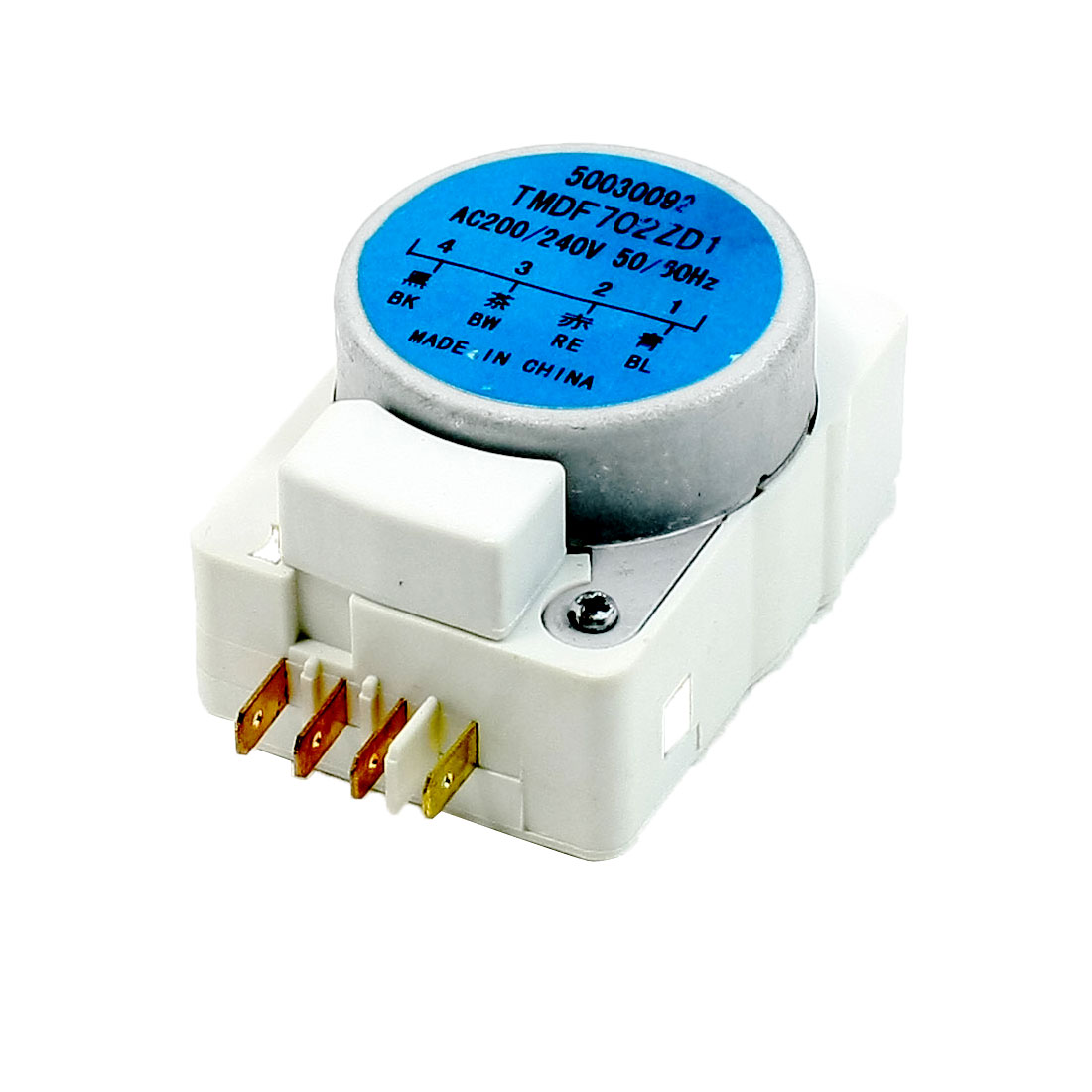 AC 200V/240V 50/60Hz Replacing Rectangle Shaped Refrigerator Defrost Timer