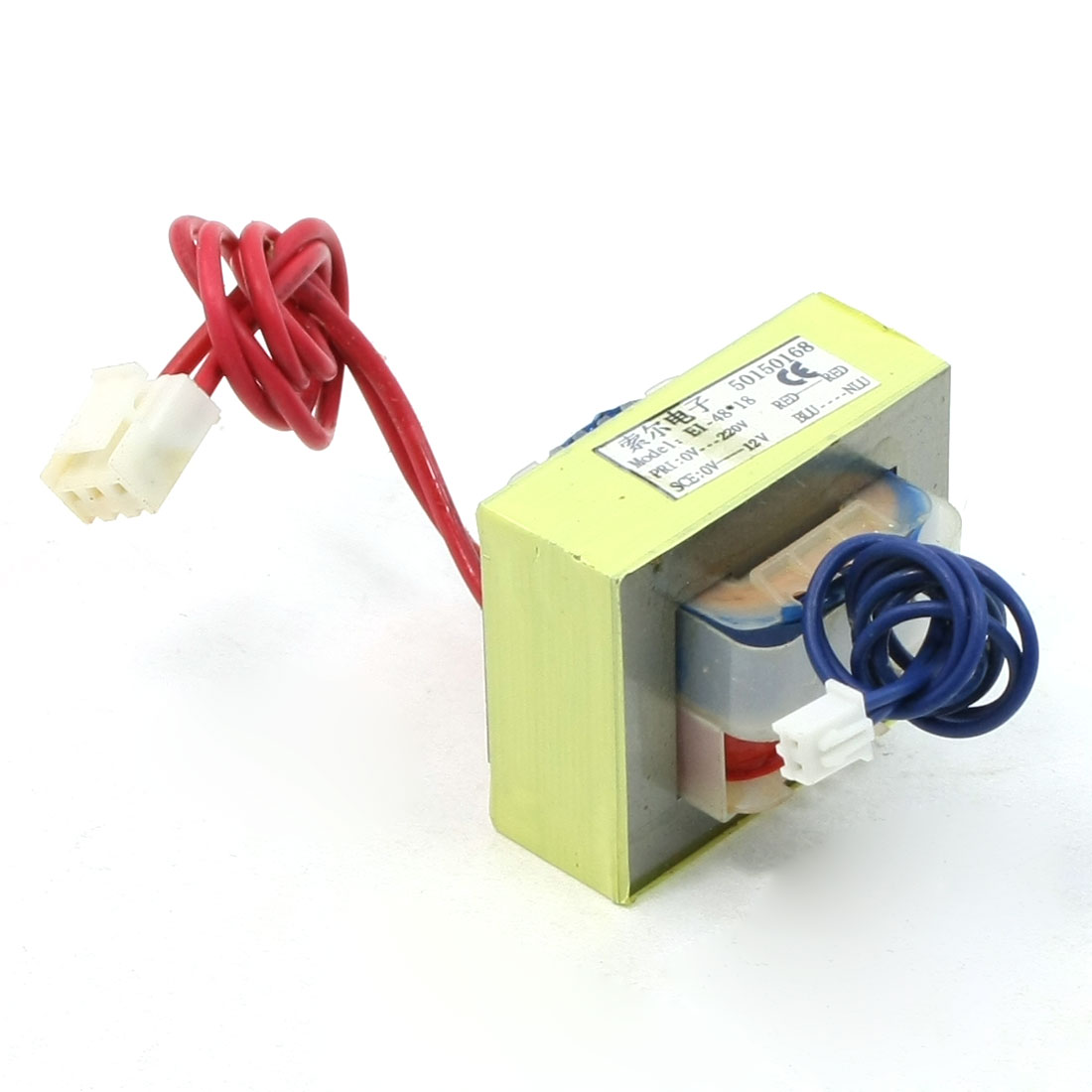 AC 220V 50Hz to DC 12V Open Frame EI Core Air Conditioner Power Transformer