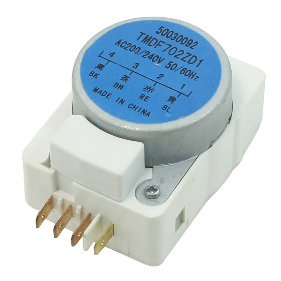 AC 200/240V 50/60Hz 4 Terminals Refrigerator Defrost Timer TMDF702ZD1