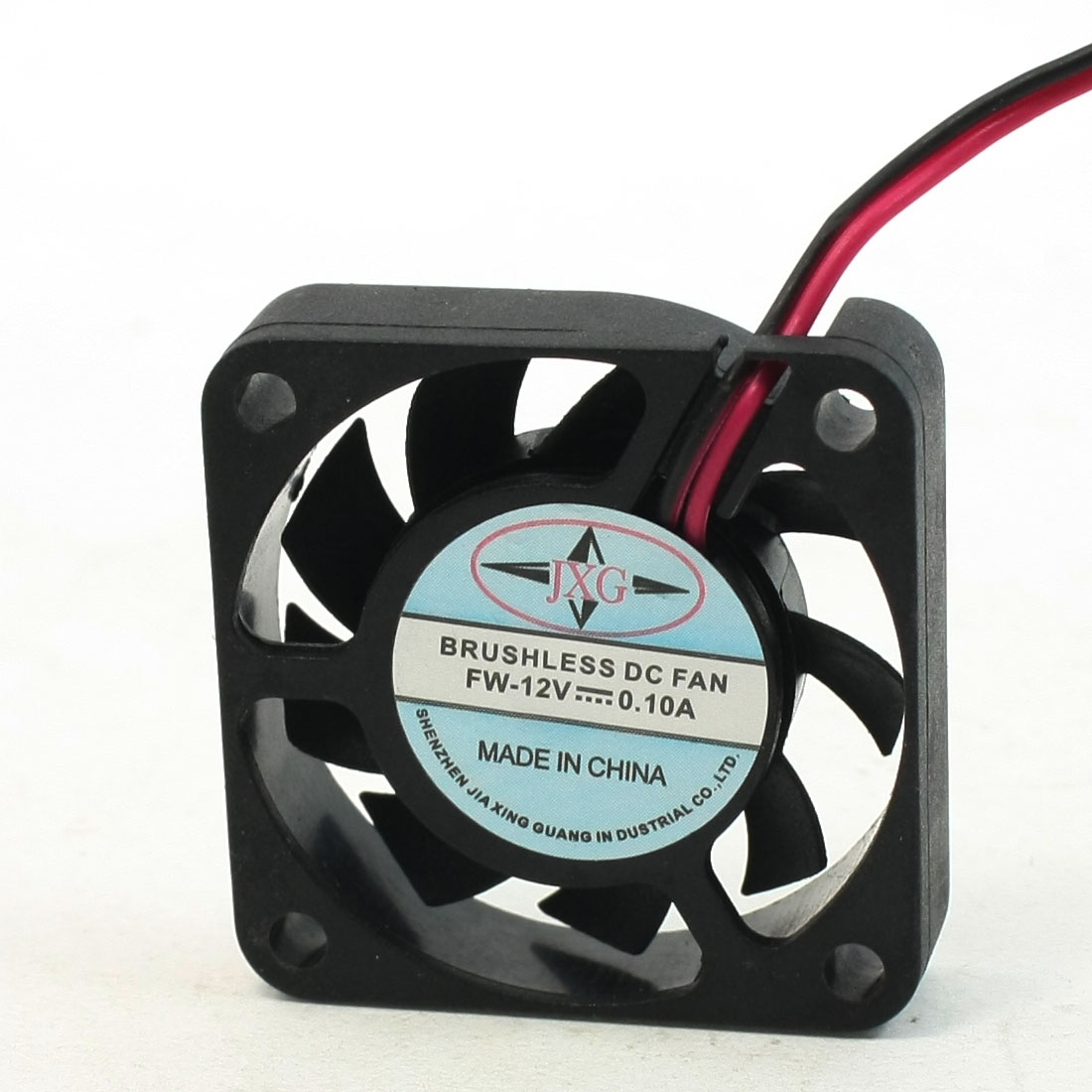 9 Blades 2 Pin Female Terminals PC CPU Computer Case Cooling Fan DC 12V 0.1A