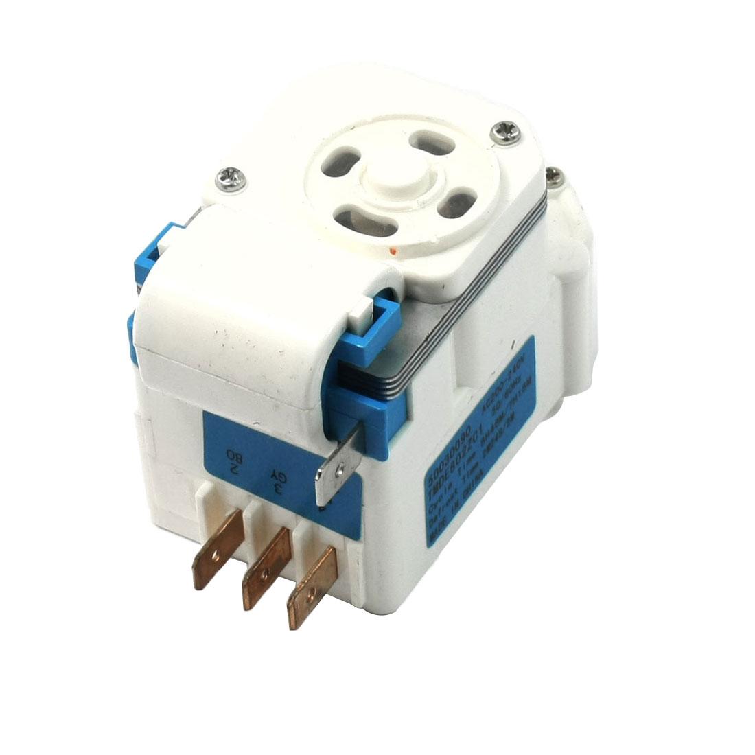 AC 200V/240V Replacing Rectangle Shaped Refrigerator Defrost Timer TMDE802ZC1